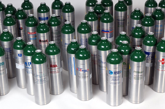 Luxfer Label Guard cylinders