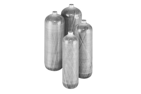 L6X® composite inflation and aerospace cylinders