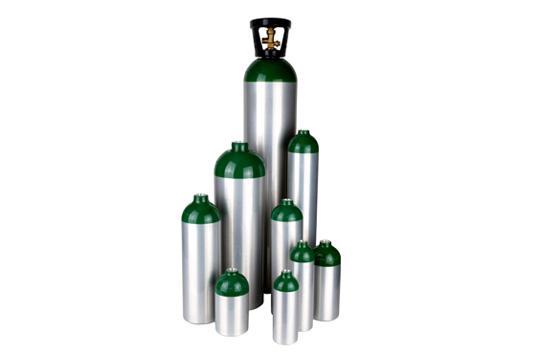 L6X® aluminum medical cylinders
