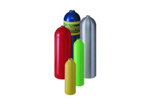 L6X® aluminium SCUBA cylinders