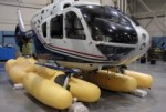 Emergency helicopter flotation devices