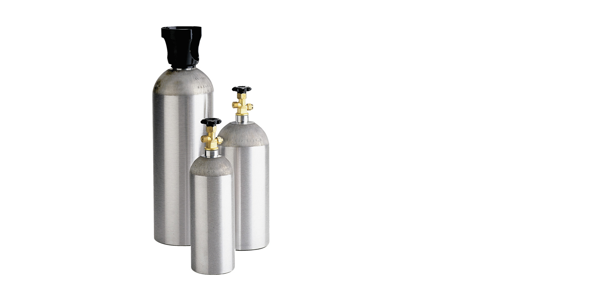 L6X aluminum CO2 and beverage cylinder