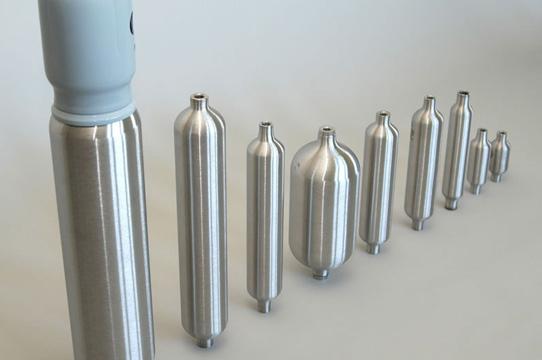 Standard TPED 1,800-psi cylinder designs